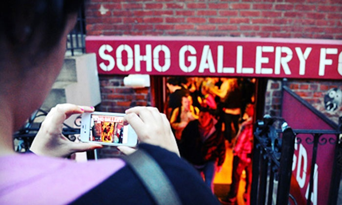 Soho Gallery for Digital Art - SoHo: Digital 101, Street, Night, or iPhoneography Photography Class for One or Two (Up to 62% Off)