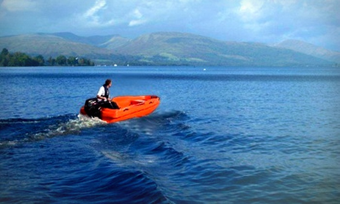 Loch Lomond Boat Hire Oob In Balloch Groupon