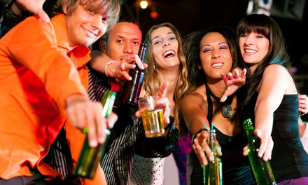 Admission for One, Two, or Four to the Mardi Gras Crawl by Keep Crawling (Up to 58% Off)