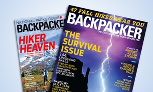 1-year, 9-issue Subscription To Backpacker Magazine