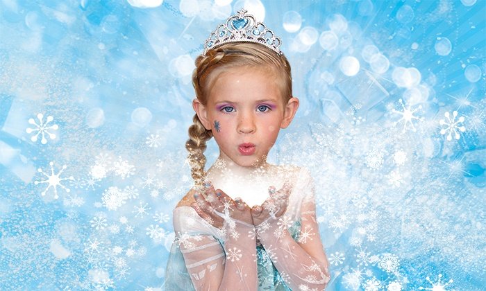 Sweet and Sassy - Sweet and Sassy: Snowflake Princess Spa Package or Snowflake Birthday Party for Up to Four at Sweet & Sassy (Up to 47% Off)