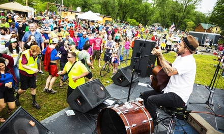 $89 for All-Access Riding Pass for Five-Day Bike Tour and Music Fest from Big BAM ($189 Value)