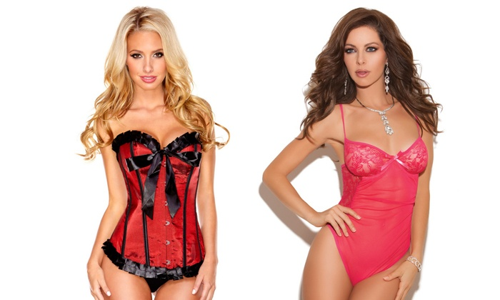 Chic Lingerie Store - Fairfax: Lingerie from Chic Lingerie Store (50% Off). Two Options Available.