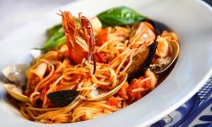 Ristorante Liberty: Menu di pesce con calice o bottiglia di vino per 2 persone in centro a Rimini al Ristorante Liberty (sconto fino a 62%)