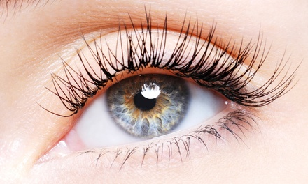 $89 for Full Set of Silk Glamour Eyelash Extensions with One Fill from Koi Lash ($220 Value)