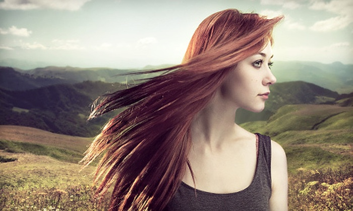 Tamed Hair Salon - Marple: Keratin Treatment or Haircut-and-Color Packages at Tamed Hair Salon (Up to 67% Off). Five Options Available.