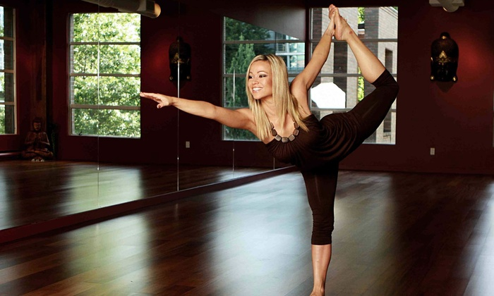 Exhale Studio - Downtown Vancouver: 10 Sessions or One Month of Unlimited Yoga, Pilates, and Dance Classes at Exhale Studio (65% Off)