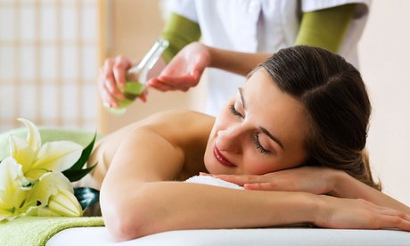 $71 for an Essential-Oil Raindrop Massage at At the Table Health Ministries ($125 Value) 5f36fe80-f8a9-11e2-b8ea-0025906a9220