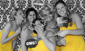 Happy Days Photography: 90-Minute, Two-Hour, or Three-Hour Photo-Booth Rental Package from Happy Days Photography (Up to 51% Off)