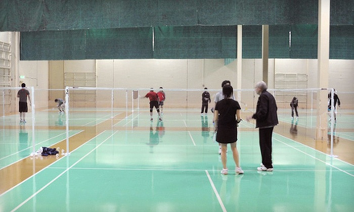 Seattle Badminton Club - Juanita: Drop-In Badminton Session for Two or Four at Seattle Badminton Club in Kirkland (Up to 58% Off)