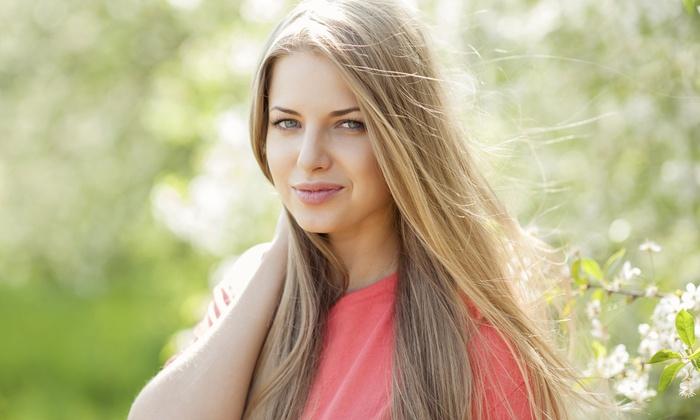 Salon De Bella - Salon De Bella: A Haircut and Straightening Treatment from Salon De Bella (45% Off)