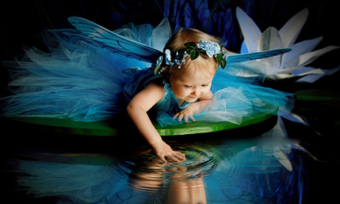 Lasting Expressions Portraits - Multiple Locations: Fairy-Themed Photo-Shoot Package for One or Photo-Shoot Package for Up to Seven at Lasting Expressions (Up to 82% Off)