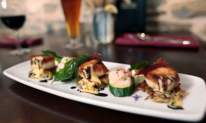 The Bordley House Grille - West Bradford: Upscale American Food at Bordley House Grille in West Chester (Up To Half Off)