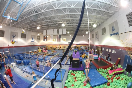 Four Weeks of Gymnastics for One or Two at Castle Rock School of Gymnastics (Up to 62% Off)
