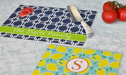 Personalized Cutting Board from Clairebella – Two Sizes Available (Up to 55% Off)