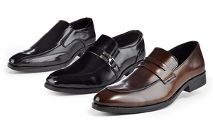 Solo Men's Slip-On Loafers at Solo Men's Slip-On Loafers, plus 6.0% Cash Back from Ebates.