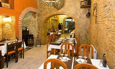 Menú de caracoles para 2 o 4 personas con entrante, principal, postre y bebida desde 24,95 € en Nogal