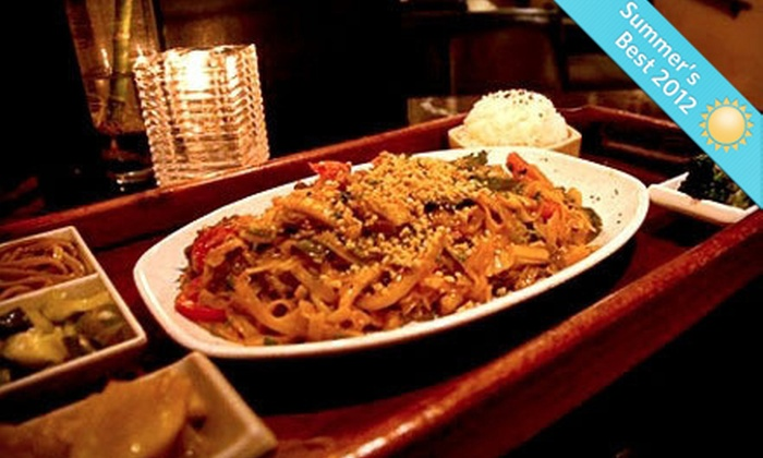 Liquid Ginger - Gainesville: Pan-Asian Food at Liquid Ginger (Half Off). Two Options Available.