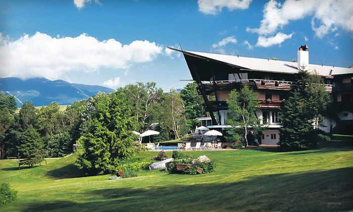 Stowehof Inn & Resort - Stowe, VT: Two-Night Stay at Stowehof Inn & Resort in Stowe, VT