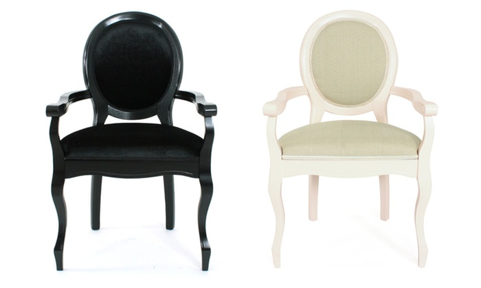 lot de 2 chaises m daillon groupon shopping. Black Bedroom Furniture Sets. Home Design Ideas