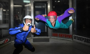Skydive Perris: Two Indoor Jumps with DVD for One or Two at Skydive Perris (Up to 42% Off)