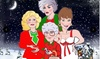 """Golden Girls: Live! On Stage A Drag Parody! """"The Lost Christmas Episode"""" - Club Café: Golden Girls Live On Stage: a Drag Parody! """"The Lost Christmas Episode"""" (December 15–January 27)"""