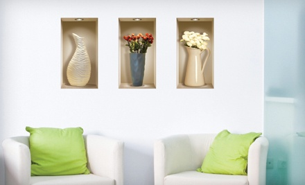 3-D Wall Decals: Bunnies (a $30 value) - 3-D Wall Decals  in