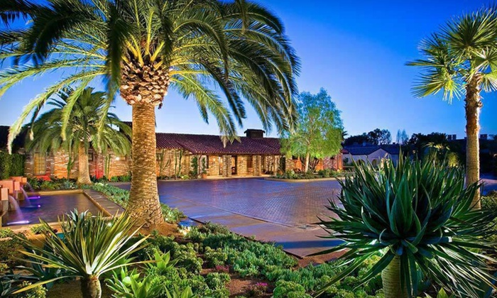 Estancia La Jolla Hotel & Spa - La Jolla Farms: One- or Two-Night Stay, Appetizer or Dessert, Wine, and Valet Parking at Estancia La Jolla Hotel & Spa in San Diego, CA