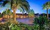 Estancia La Jolla Hotel & Spa - Northern San Diego: One- or Two-Night Stay, Appetizer or Dessert, Wine, and Valet Parking at Estancia La Jolla Hotel & Spa in San Diego, CA