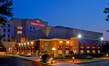 Stay at Crowne Plaza Philadelphia – Bucks County near Philadelphia, with Dates into March