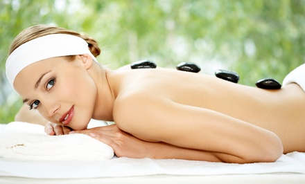 60- or 90-Minute Hot-Stone Massage with Aromatherapy at Om Healing Massage (Up to 57% Off)