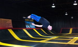 Stratosphere Trampoline Park-Hainesport: $15 for One Hour of Trampoline Play for Two at Stratosphere Trampoline Park ($30 Value)