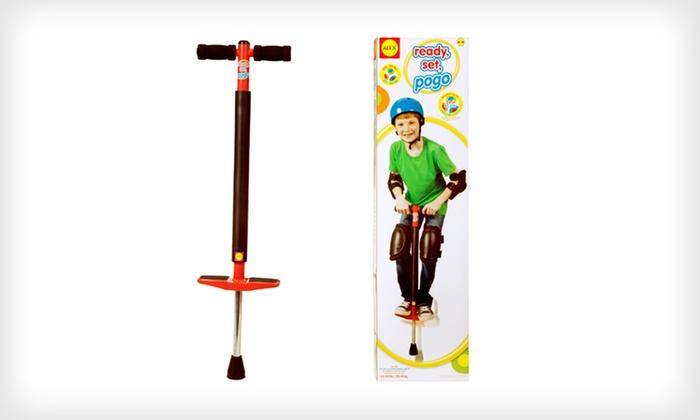 Alex Ready, Set, Pogo Toy: $25 for an Alex Ready, Set, Pogo Stick ($39.95 List Price). Free Shipping and Free Returns.