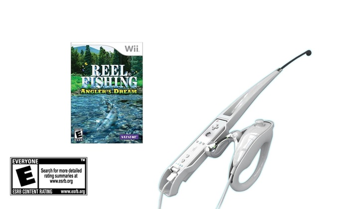 Reel Fishing: Angler's Dream Bundle for Wii: Reel Fishing: Angler's Dream Bundle with Fishing Rod for Wii. Free Shipping and Returns.