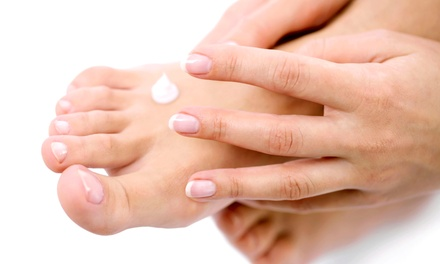 One or Two Spa Mani-Pedis at Institute of Nail Artistry (Up to 52% Off)
