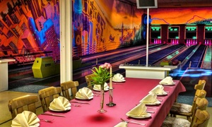 Tunicis Dubrovnik: 2 Std. Schwarzlicht-Disco-Kegeln für 6 o. 10 Pers. mit 1 Getränk u. Schnaps bei Tunici's Restaurant Dubrovnik ab 39,90 €