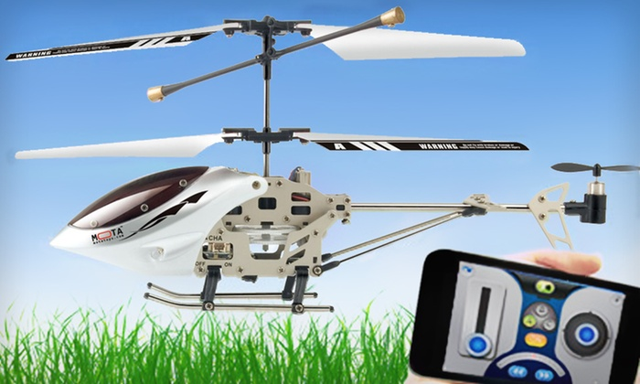 Mota Apple-Controlled Helicopter: $34 for a Mota Apple Device–Controlled Helicopter ($129.95 List Price). Free Shipping and Free Returns.