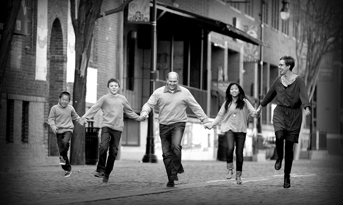 Christopher Clark Designer Portraits - Downtown Wichita: Family, Individual, or Children's Package from Christopher Clark Designer Portraits (84% Off).