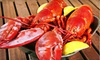 Black Point Seafood: Lobster Bake or Lobster for Lovers Dinner for Two, or a Lobster Dinner for Four from GetMaineLobster.com (Up to 57% Off)