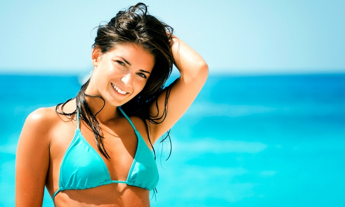 New York Esthetics - Astoria: One, Three, or Six Organic Spray Tans at New York Esthetics (Up to 75% Off)