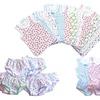Toddler Girls' 100% Cotton Undershirt or Brief 12-Pack
