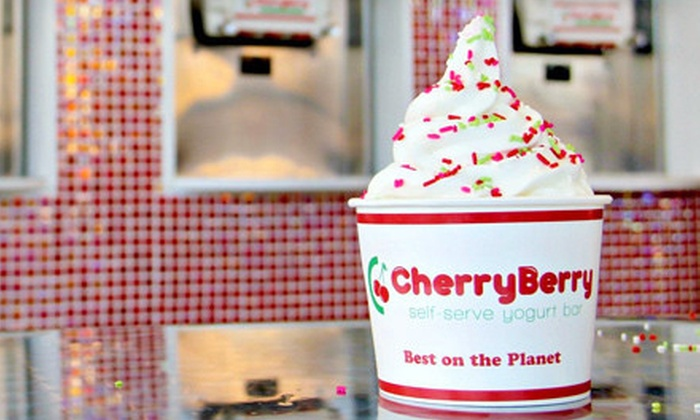 CherryBerry - Blackburn: $5 for $10 Worth of Frozen Yogurt and Toppings at CherryBerry