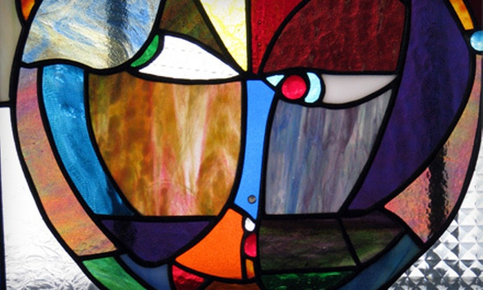 Glass Addicts - Sanford: One Make and Take Stained-Glass Project, or a Four-Week Intro Class for One or Two at Glass Addicts (Up to 69% Off)