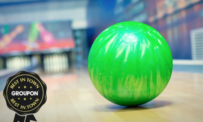 Rollerbowl - Romford: Two Games of Bowling With a Choice of Hotdog, Nachos or Burger for Four (£10) or Six (£15) at Rollerbowl (77% Off)
