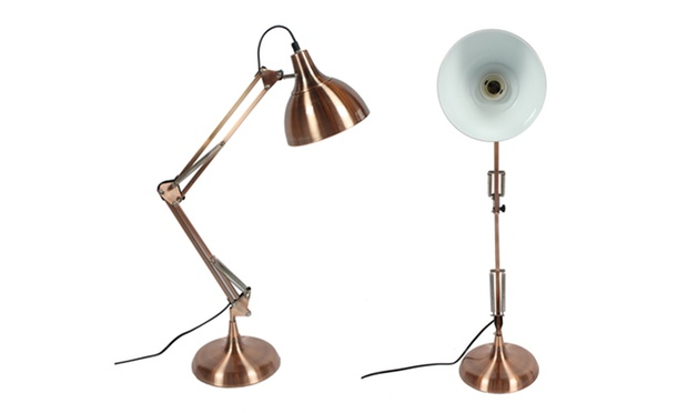 Lampe de bureau et lampadaire groupon shopping for Lampe bureau architecte