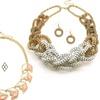 Mesh Chain or Chevron Jewelry Sets