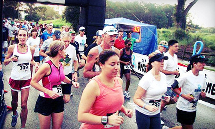 Morton Plant Mease Foundation - Clearwater: Entry in a 5K or 10K Cancer-Awareness Race on Saturday, September 8, from Morton Plant Mease Foundation (Up to 51% Off)