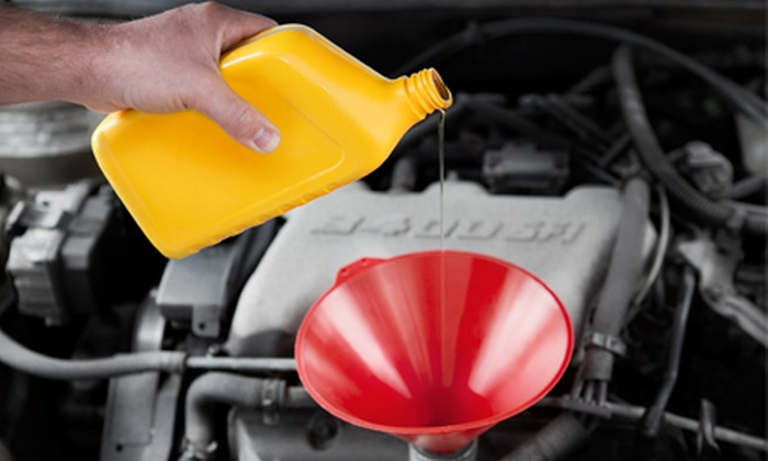 Wood & Fullerton Goodyear Tire and Auto Service - Multiple Locations: $20 for an Oil-Change Package at Wood & Fullerton Goodyear Tire and Auto Service ($43.99 Value). Ten Locations Available.