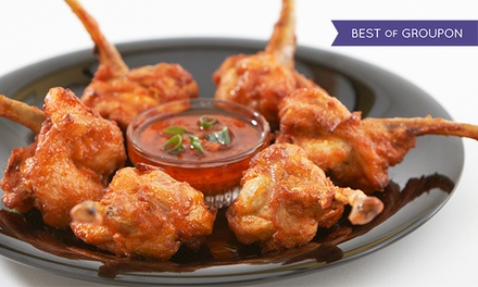 $12 for $20 Worth of Indian and Asian Fusion Cuisine at Masala Wok