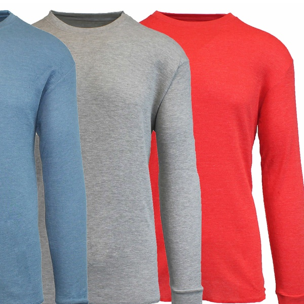 2d0dd1e8 Up To 62% Off on 4PK Men's Waffle Knit Thermal | Groupon Goods